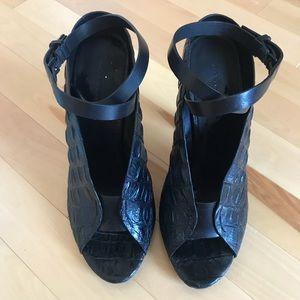 Alexander Wang Clara Ankle Wrap Sandal